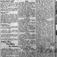 Athens Daily March 1922