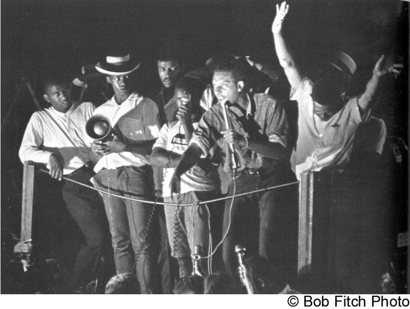 Stokely Carmichael Calling for Black Power
