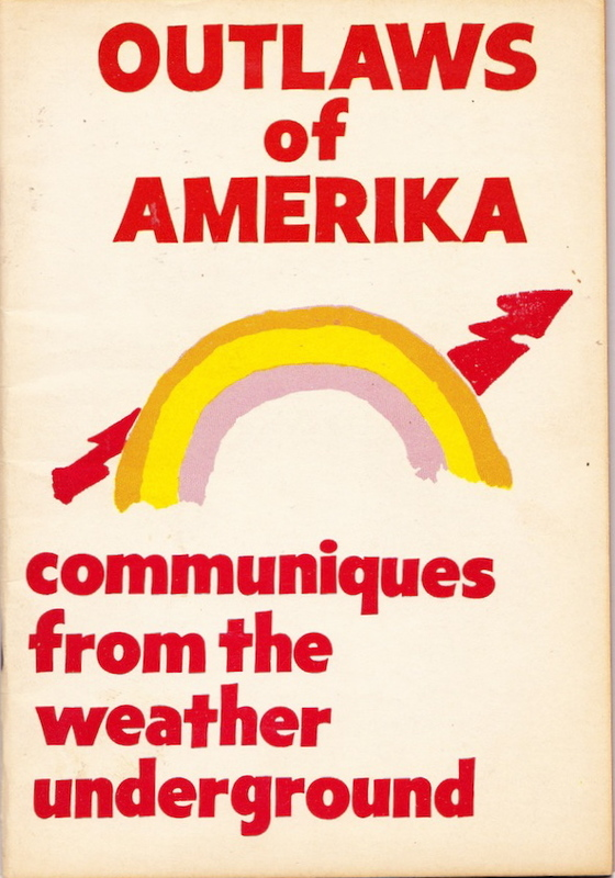Front cover of the Weather Underground's Comminque