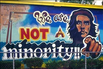 We Are Not a Minority