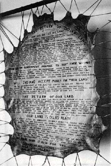 Alcatraz Proclamation