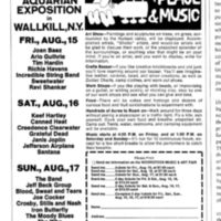 Woodstock Advertisement