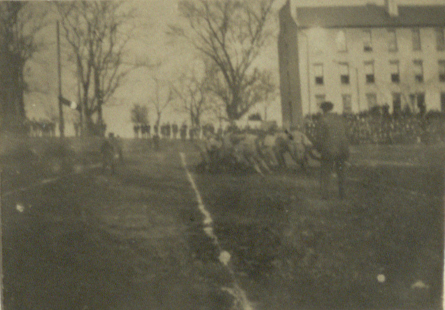 University of Georgia football game, 1898 or 1899.