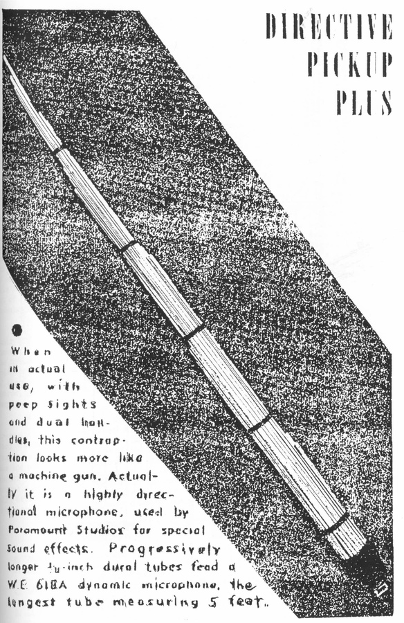 Machine-gun Mic Advertisement
