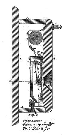 Blake's Carbon Granule Microphone Patent