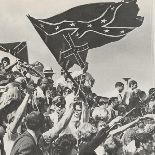 Fans with Flag_Pandora 1971.jpg