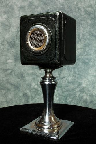 the condenser microphone steele vintage broadcast microphone collection uga special. Black Bedroom Furniture Sets. Home Design Ideas